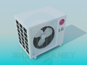 Outdoor unit air conditioner LG
