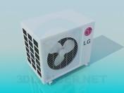 Unidad exterior aire acondicionado LG