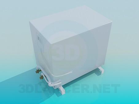 3d модель Наружный блок кондиционера LG – превью