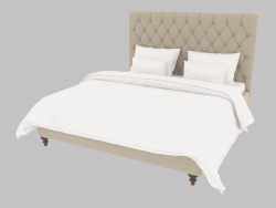 Double bed MADLEN KING SIZE (201.007)