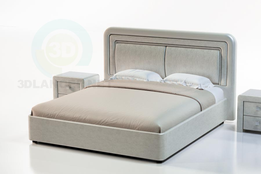 3d model Tuscany Bed - preview