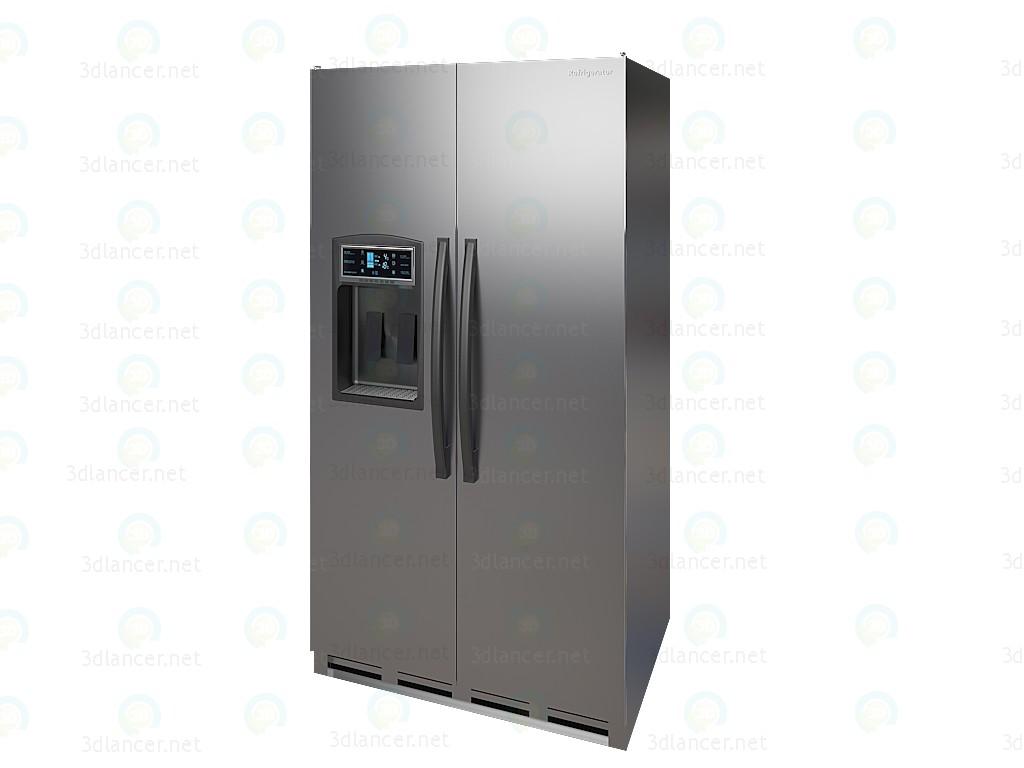 Refrigerador al lado del modelo 3DS  3D modelo Compro - render