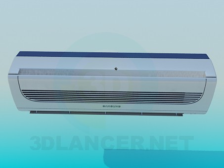 3d model Samsung Air Conditioning - preview