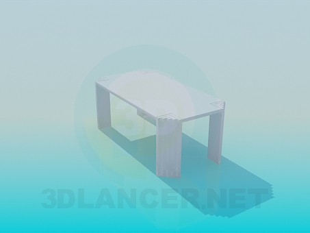 3d model Unusual table - preview
