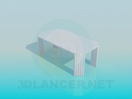 modelo 3D Mesa inusual - escuchar