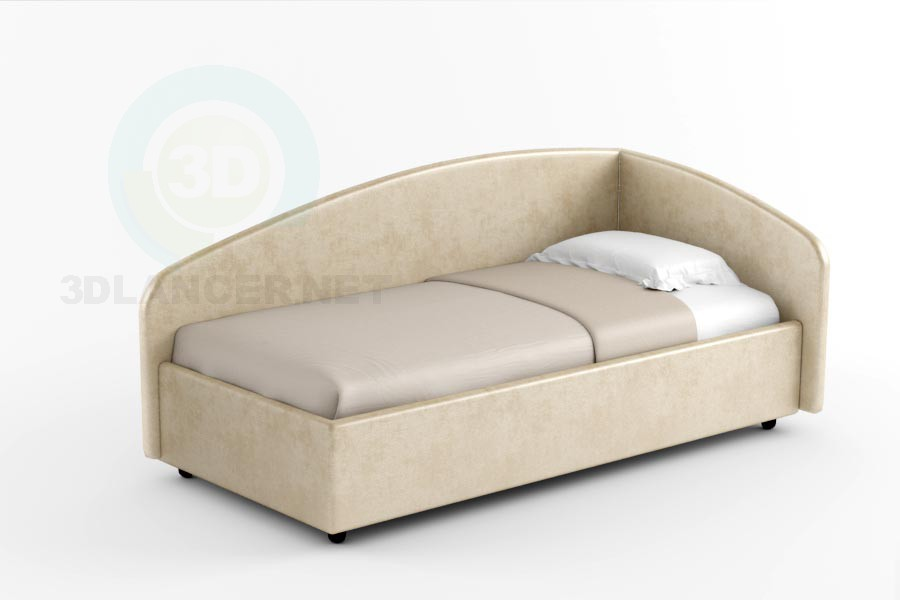 3d model Bed Ulysses - preview