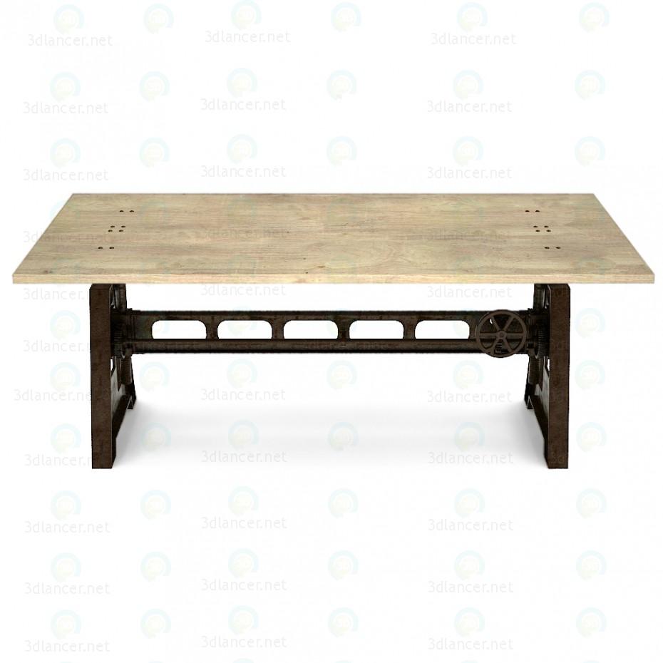 3d GORDONS adjustable table model buy - render