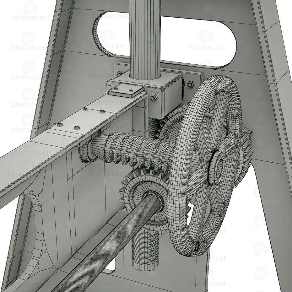 Mesa ajustable GORDONS 3D modelo Compro - render