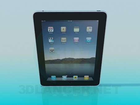 3d modeling IPad model free download
