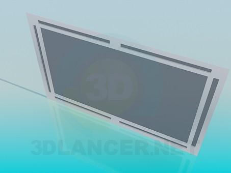 3d модель Дзеркало – превью