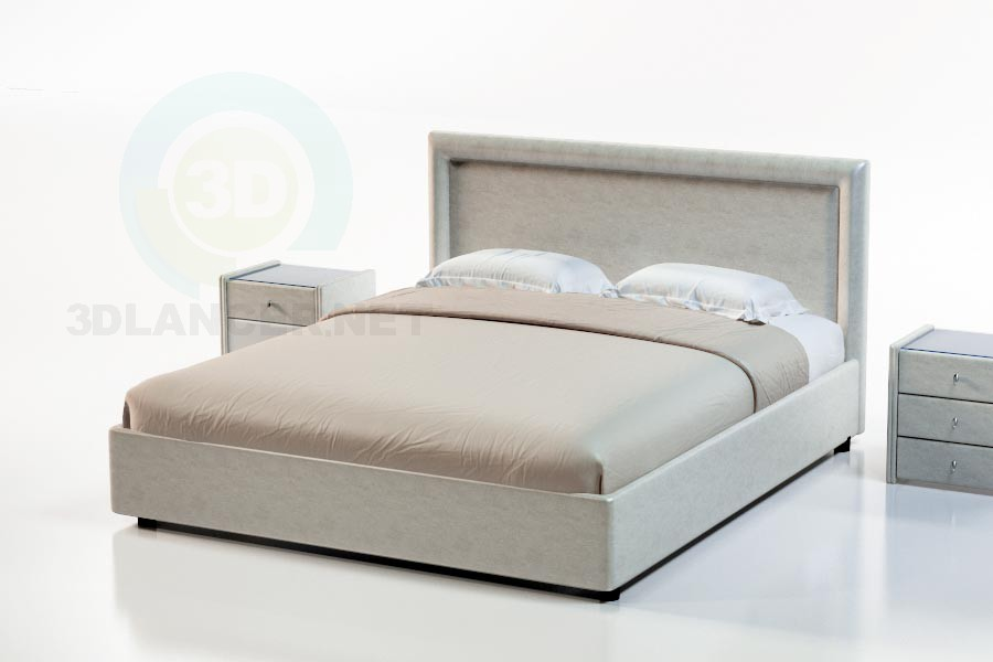 3d modeling Bed Venta model free download