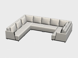 Modular sofa Normandy