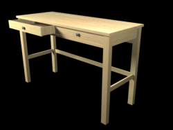 Table Hemmes 2 drawers