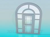 आर्क के साथ दरवाजा