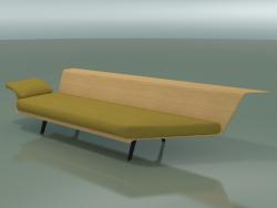 Angular Lounge Module 4423 (90 ° Left, Natural oak)