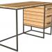 3d model Writing desk - preview