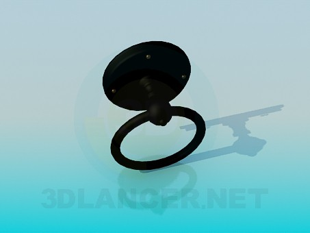 3d model Doors' ring - preview