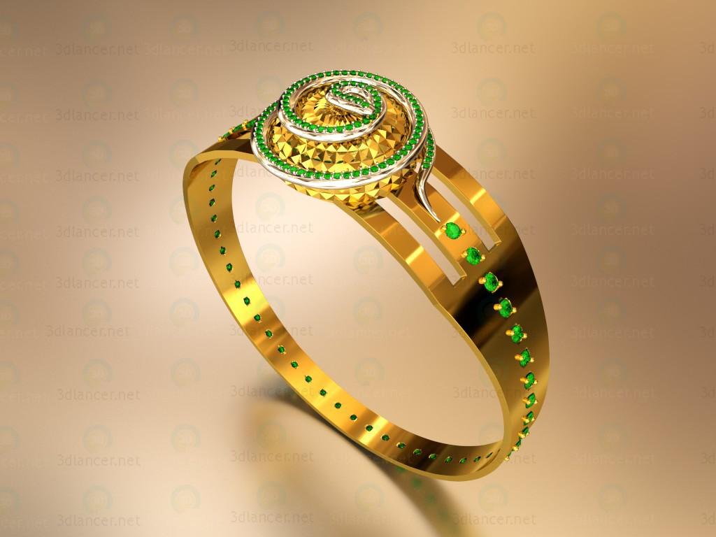 """3d model Ring """"Snake"""" - preview"""