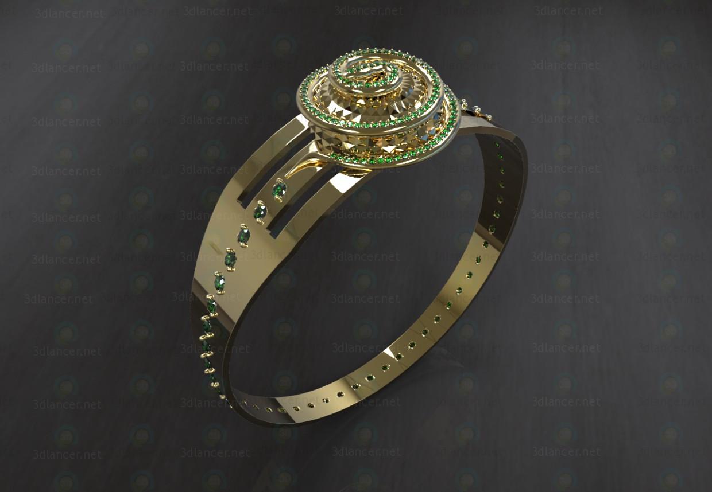 """3d модель Кольцо """"Snake"""" – превью"""