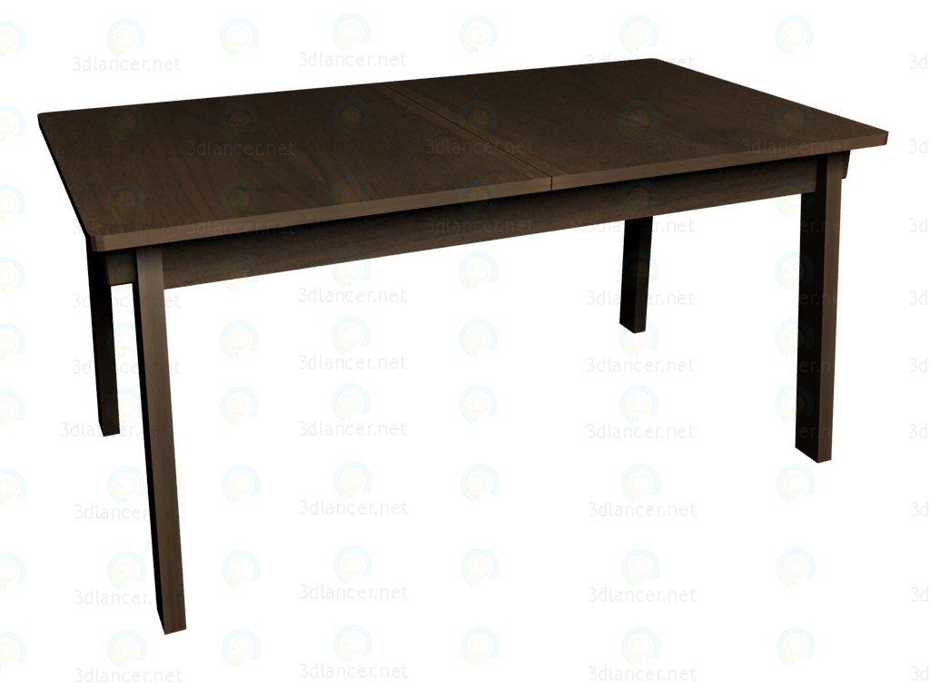 3d model Folding table (folded) VOX - preview