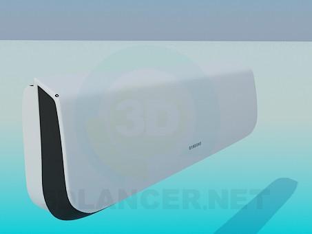 3d модель Кондиционер Samsung – превью
