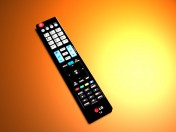 The remote for the TV LG SMART TV