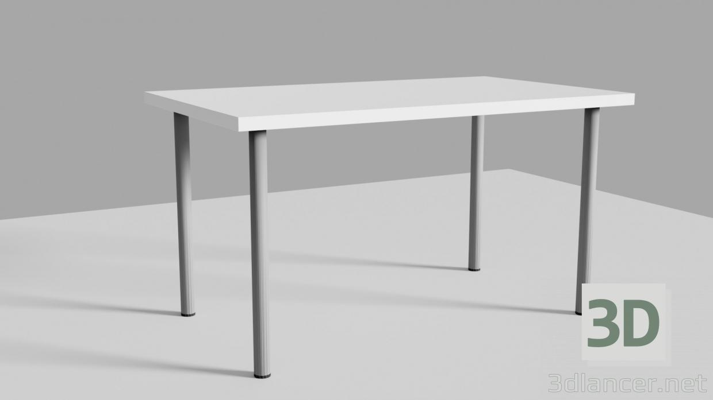 3 डी मॉडल आइकिया लिनमन के साथ तालिका - पूर्वावलोकन