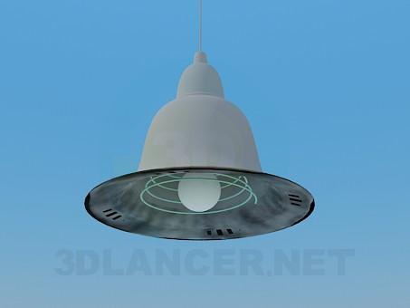 3d модель Люстра в виде колокола – превью