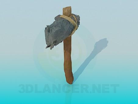 descarga gratuita de 3D modelado modelo Herramienta de la edad de piedra