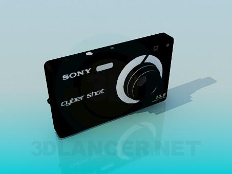 3d моделирование Фотоаппарат SONY модель скачать бесплатно