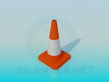 descarga gratuita de 3D modelado modelo Limitador de carretera