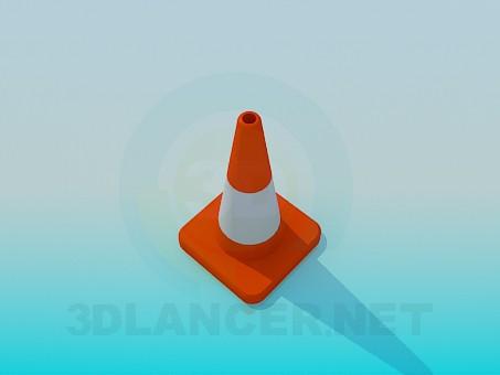 modelo 3D Limitador de carretera - escuchar