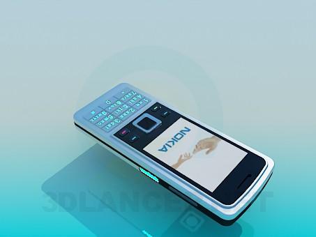 3d модель Nokia 6300 – превью