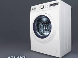 Máquina de lavar roupa ATLANT 10 series SMART ACTION