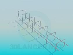 Barre horizontale pour aire de jeux