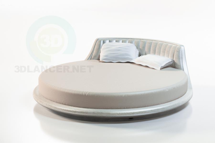 3d модель Ліжко Вулькано – превью