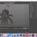 3d model Low poly creature (Cinema 4D) - preview