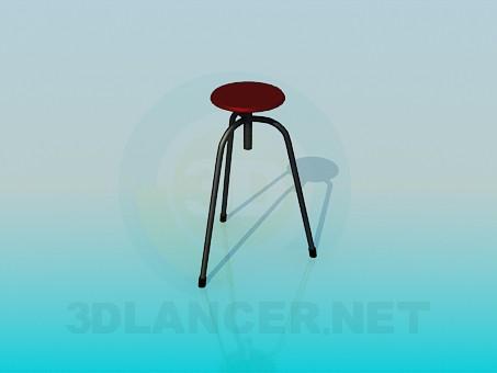 descarga gratuita de 3D modelado modelo Taburete alto