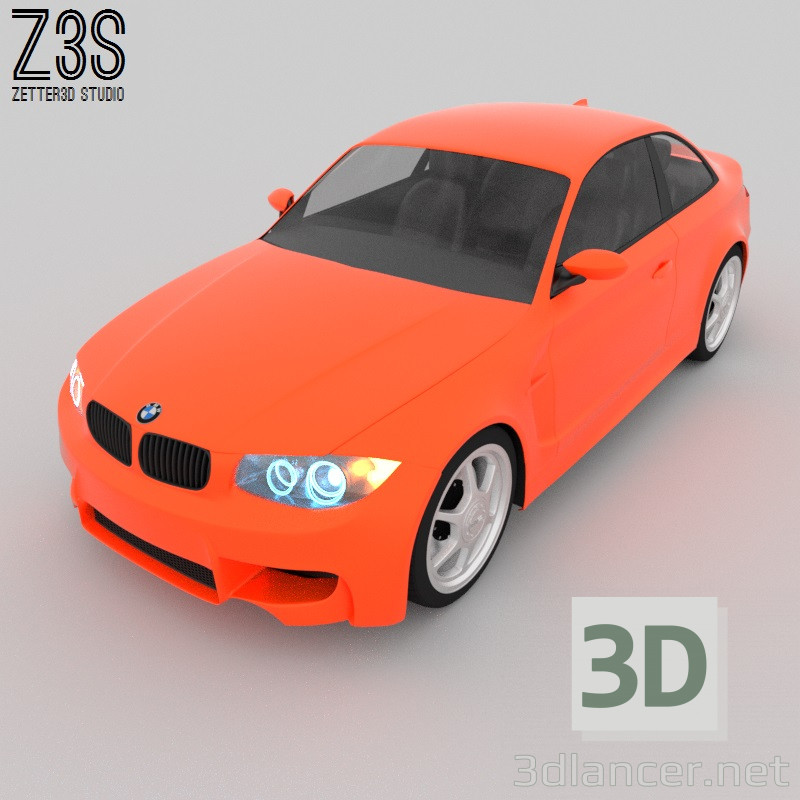 3 डी BMW M1 COUPE मॉडल खरीद - रेंडर