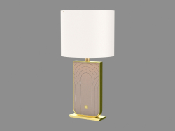 Lampada da tavolo in stile Art Deco Louis