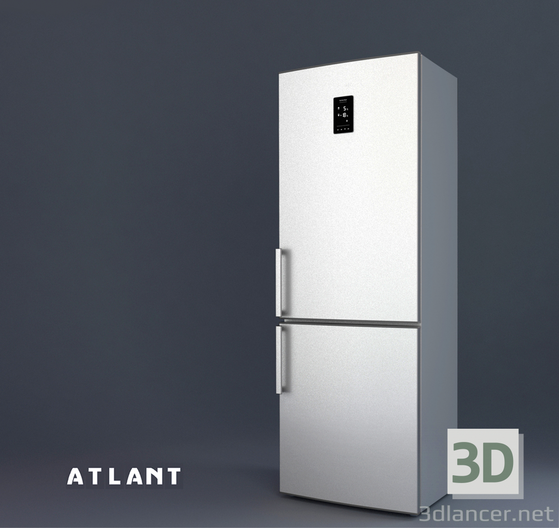 3d model Refrigerator ATLANT ХМ 4524ND - preview