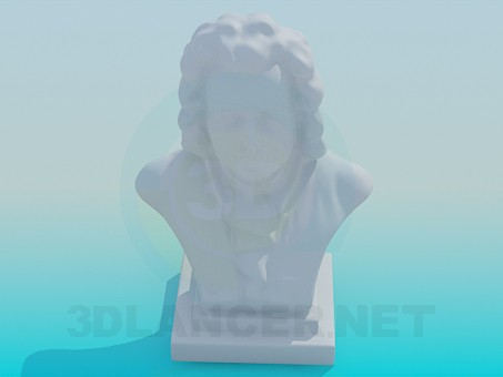 3d model Bust - preview