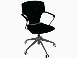 Chaise de bureau à roulettes (A)