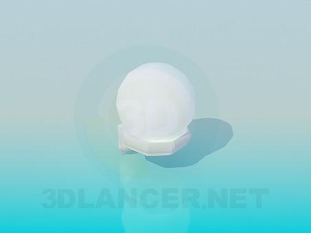 3d модель Круглий ліхтарик – превью