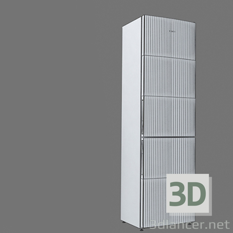 3d model New model of ATLANT 2018 refrigerator ХМ-4624 - preview