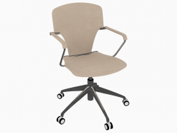 Office chair on casters (B)
