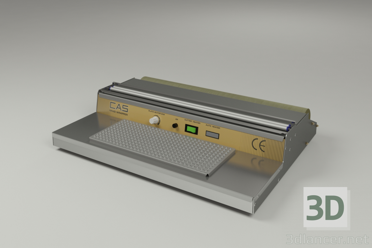 3d Thermo packing table model buy - render
