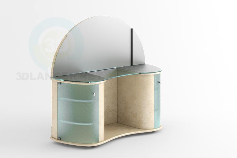 3d модель Столик Етна – превью