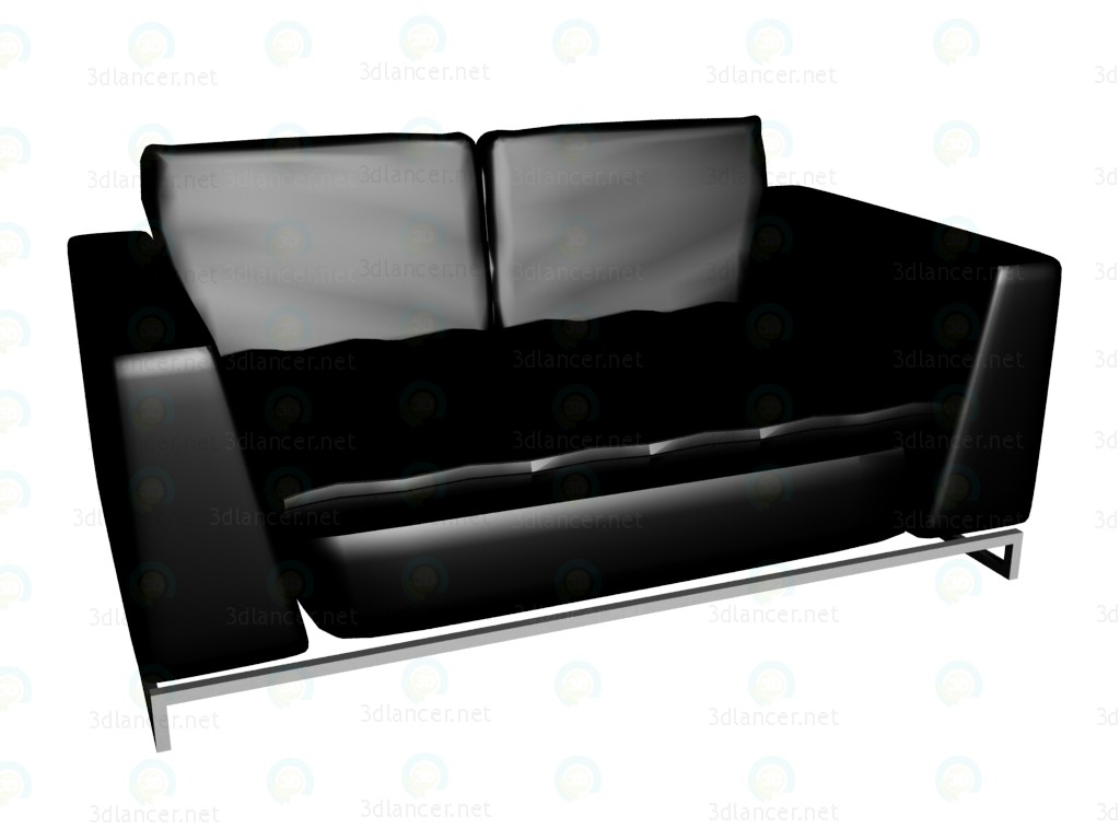 3d model Sofa-double bed Avedon - preview