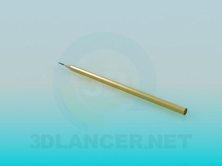 3d model Pencil - preview